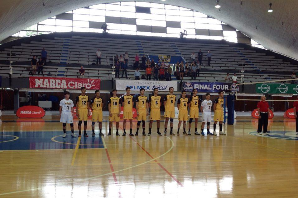 """CETYS se presentó en el """"Final Four"""" de voleibol CONADEIP"""