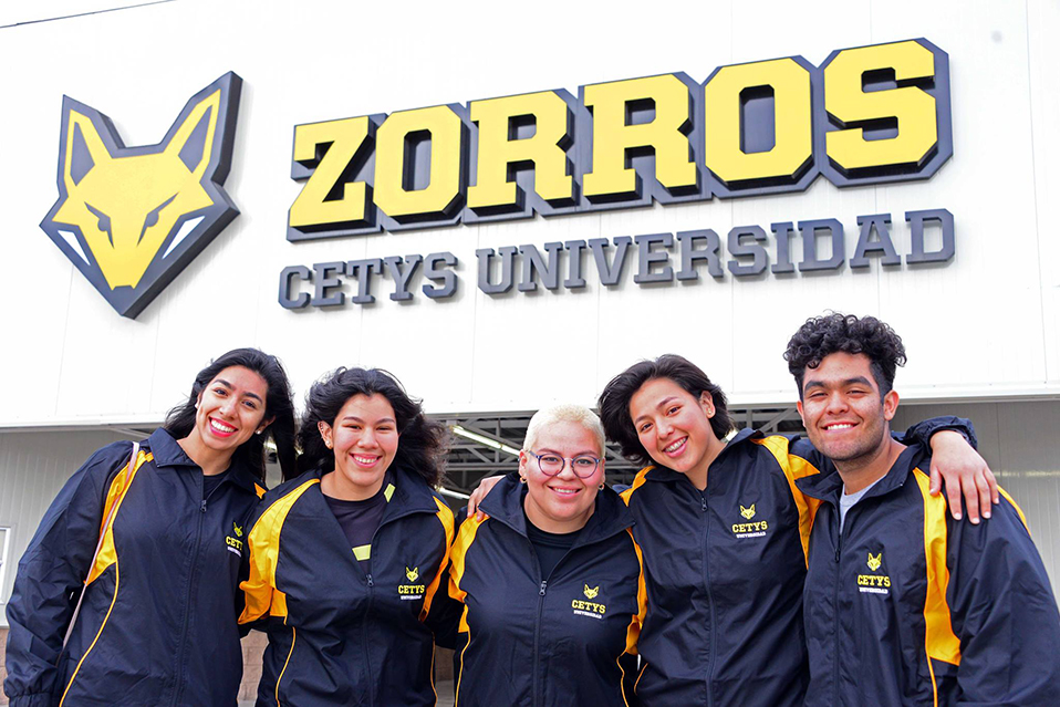 Zorros en Universiada Regional