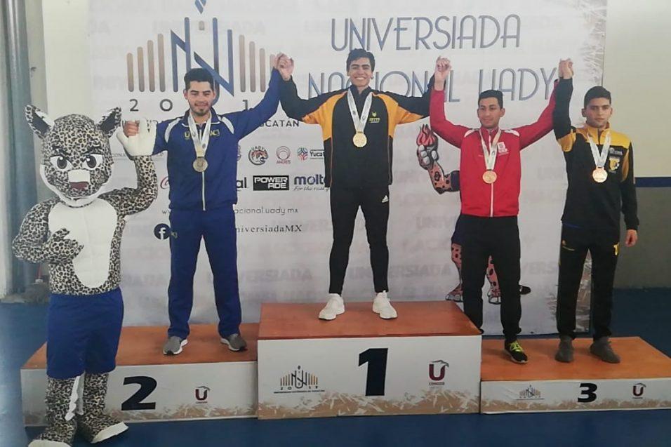 Taekwondo de CETYS generó oro en Universiada Nacional