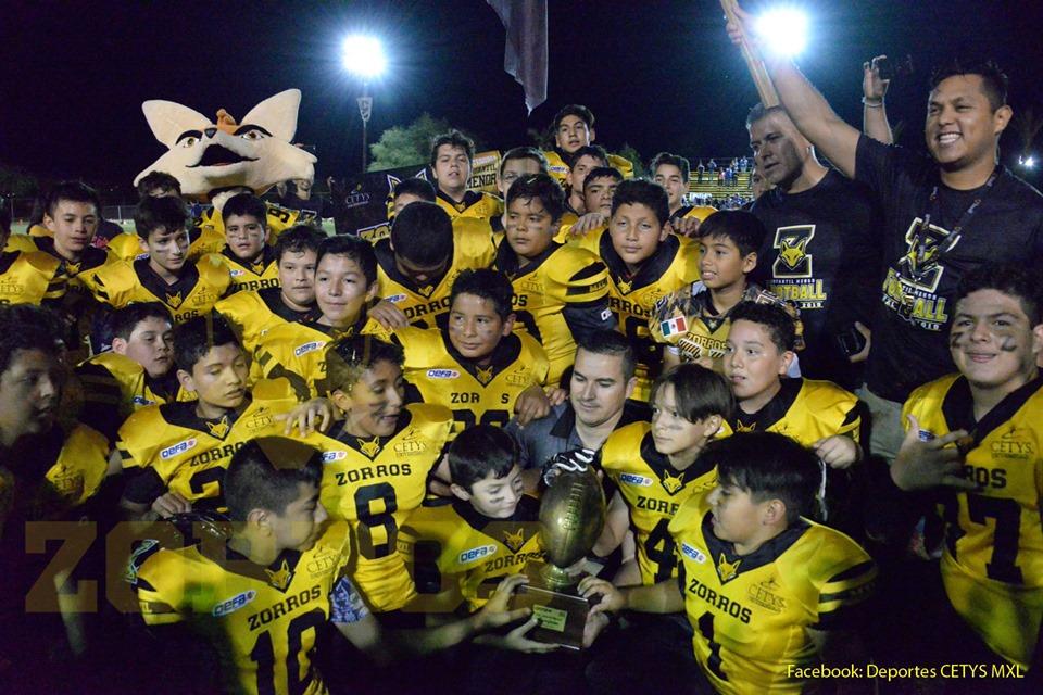 Comienzan Zorros la defensa de sus Campeonatos en categorías infantiles