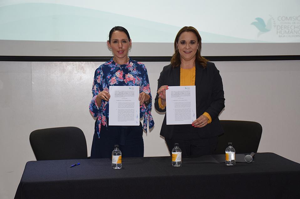 CETYS Tijuana signa convenio con CEDHBC para forjar líderes con perspectiva en Derechos Humanos