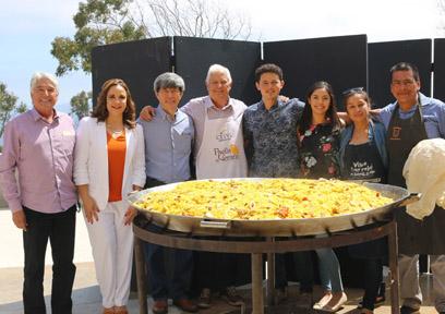 Celebran tradicional Paella de verano a favor de la educación