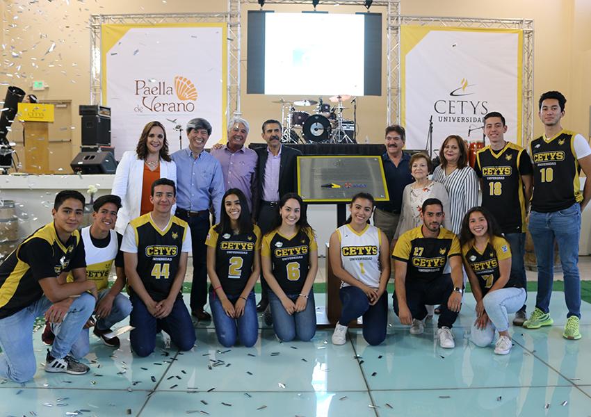 Celebran ceremonia de nombramiento del Gimnasio Auditorio en CETYS Ensenada