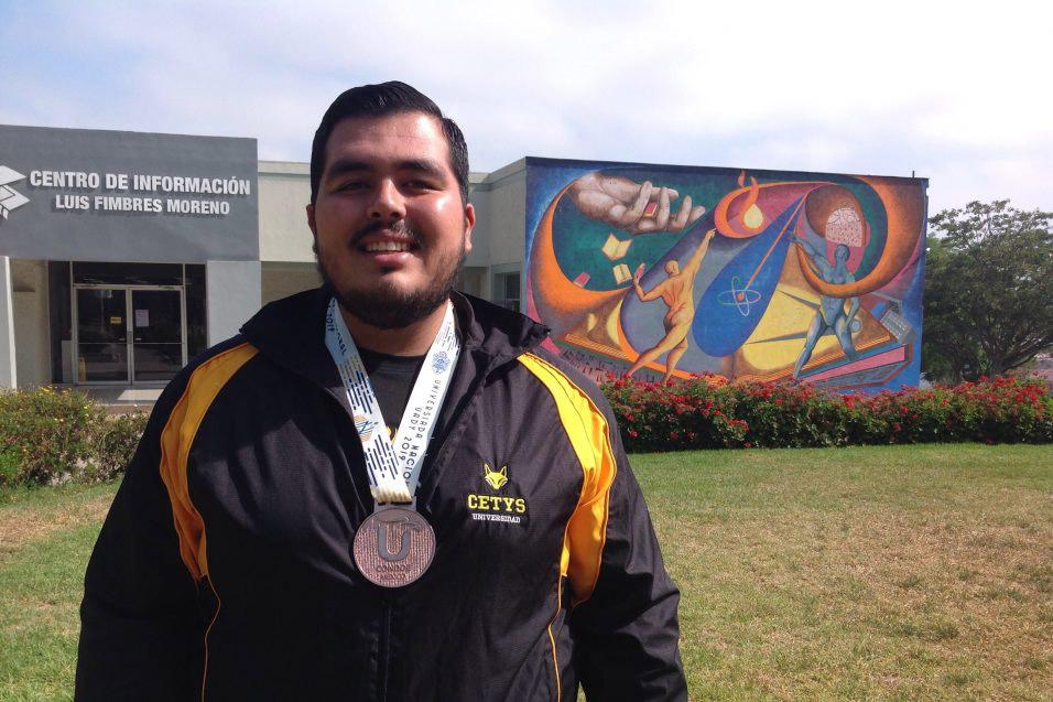 Importante que CETYS abre sus puertas a los arqueros: Gabriel Pérez Avelar