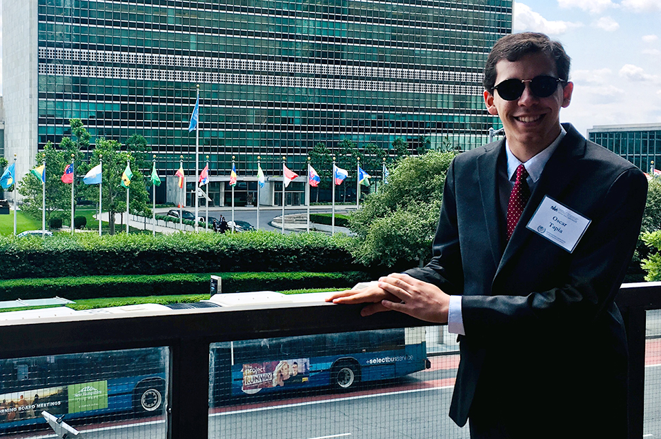 Representa Oscar Tapia a México ante las Naciones Unidas