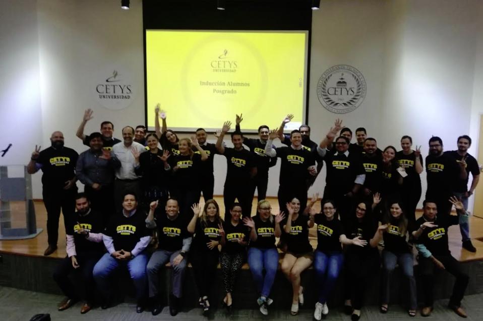 Nuevos estudiantes de Posgrado reciben inducción en CETYS Tijuana