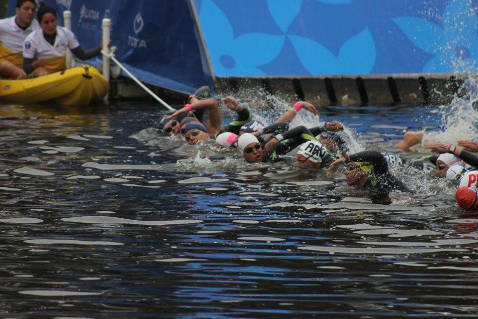 CETYS se hizo presente en aguas abiertas de Juegos Panamericanos