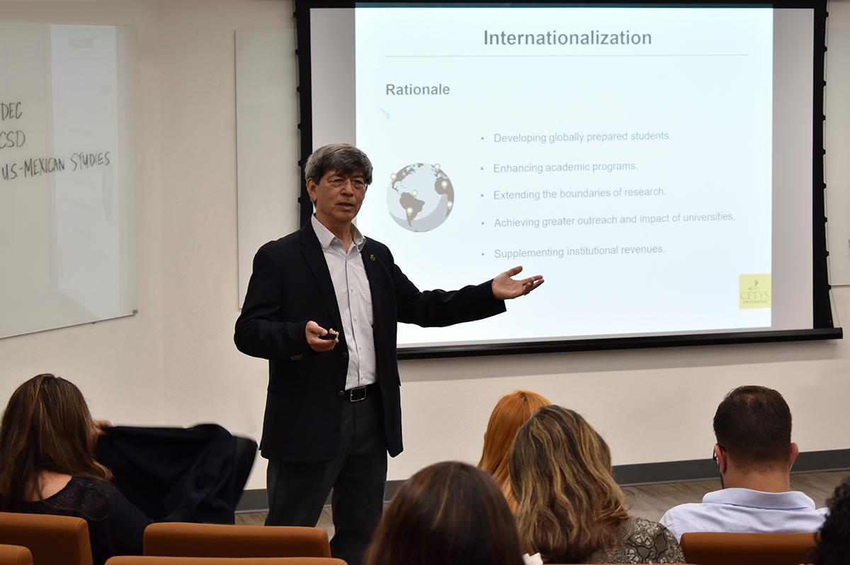 CETYS comparte experiencia en internacionalización con organismos de EUA