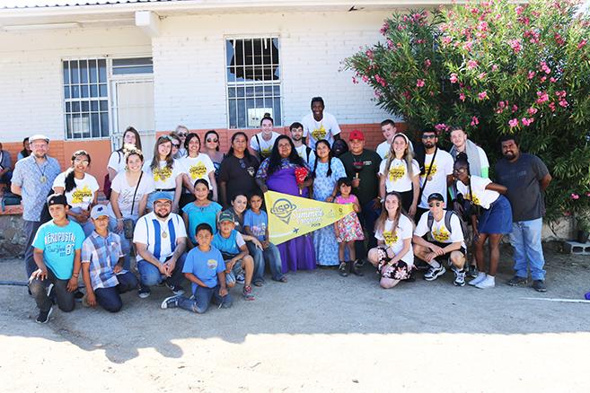 Estudiantes de Reino Unido visitan comunidad indígena en el marco del ISP
