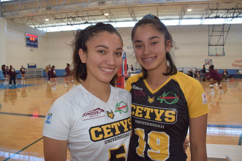 La buena química entre Marla y Anna Lucía por el voleibol