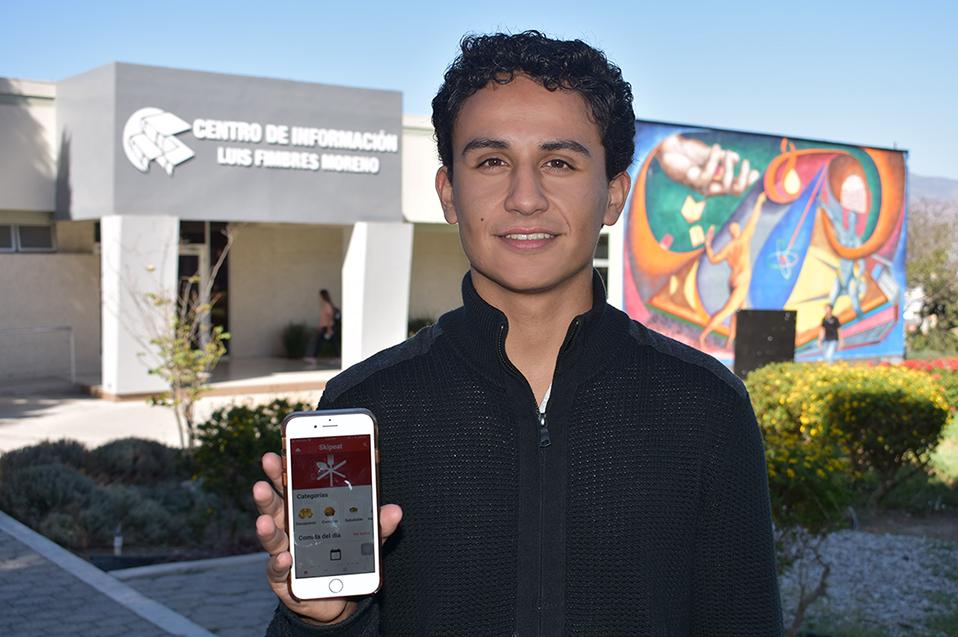 Estudiante de CETYS crea App para pedir comida y reducir tiempo de espera
