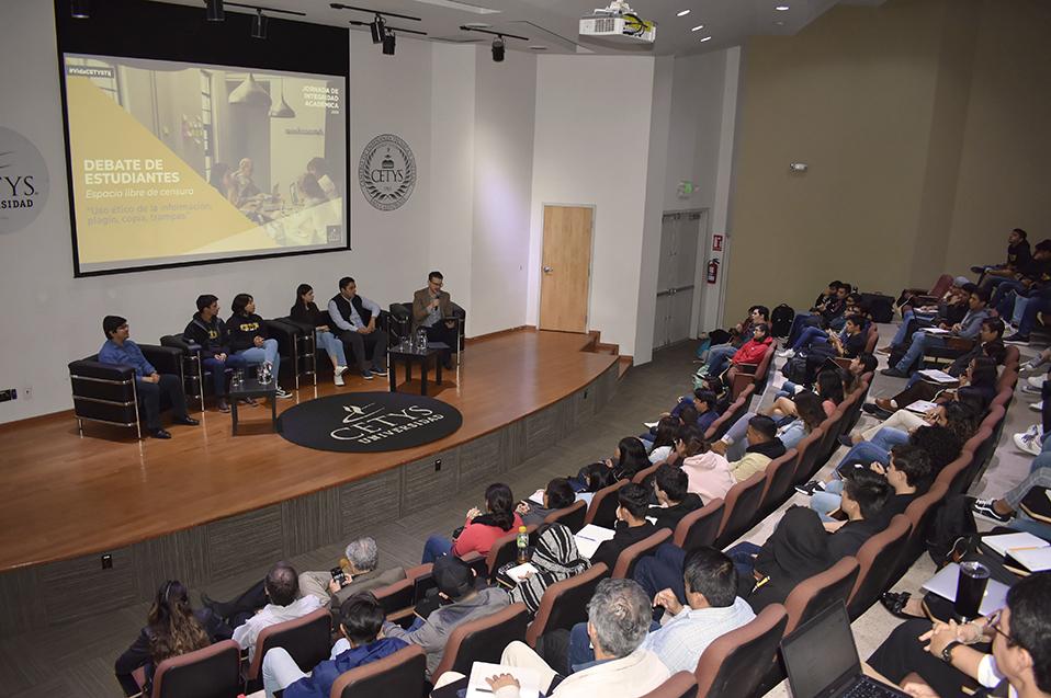 Reflexiona comunidad CETYS en las Jornadas de Integridad Académica 2019