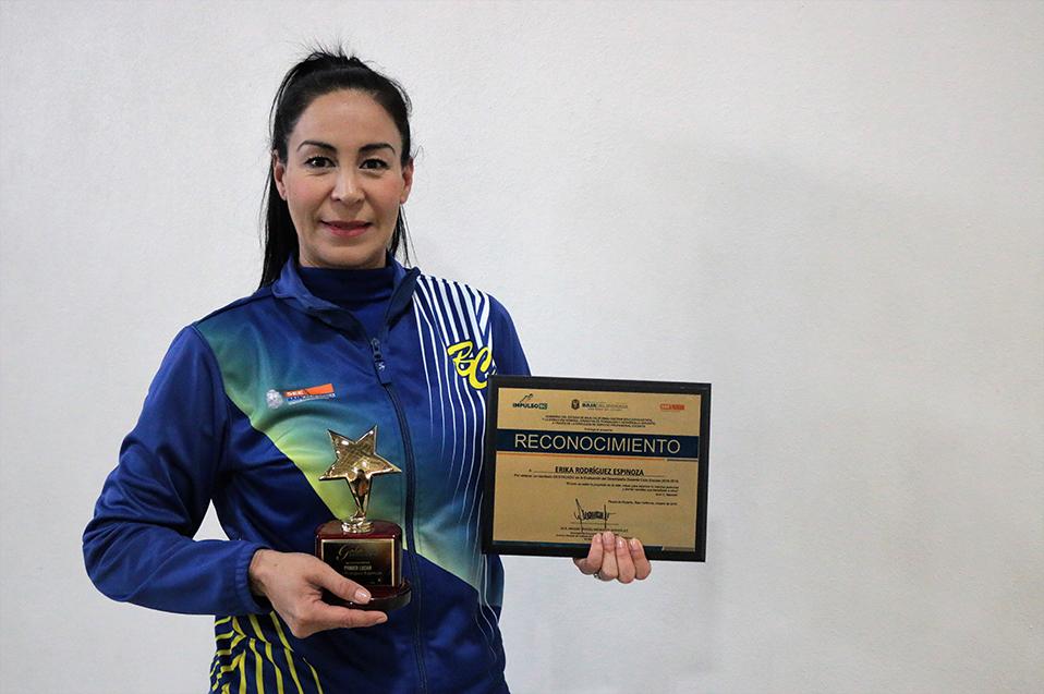 Desarrollo integral desde la educación física, pasión de Erika Rodríguez