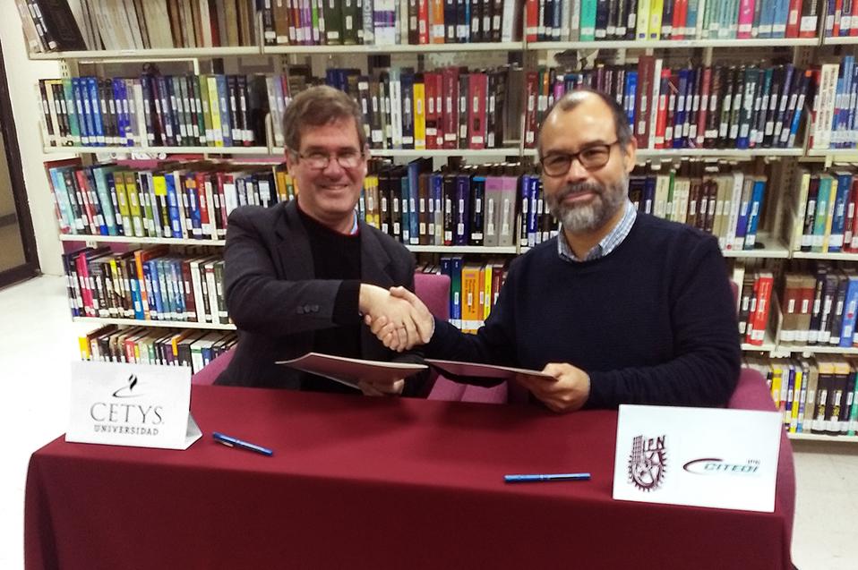 CETYS Universidad y CITEDI-IPN compartirán biblioteca especializada
