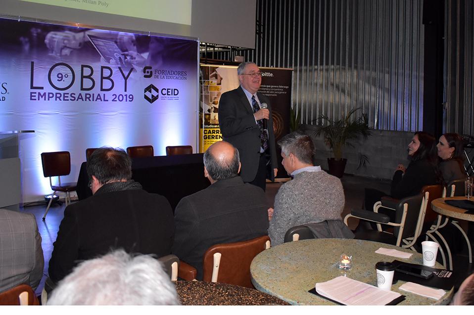 Lobby Empresarial de CETYS traerá temas globales a empresas de la región