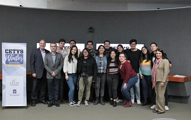 Culmina el Winter School, primer programa internacional del 2020 en el Campus Ensenada