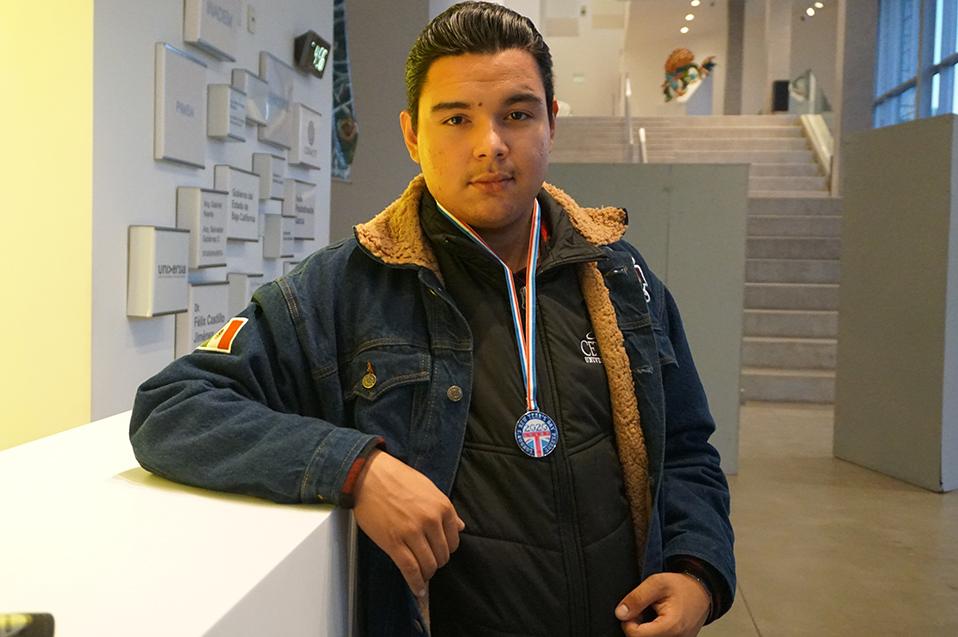 Miguel Ángel Gonzalez, representó a México en Londres.
