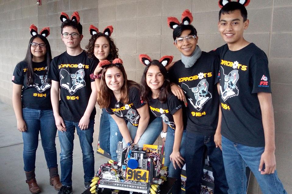 Los Zorrobots irán al regional de robótica en EUA
