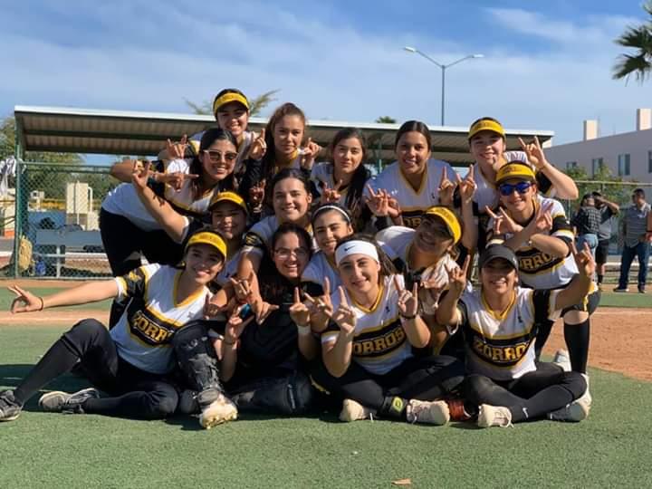Zorros suma conquistas en el softbol femenil