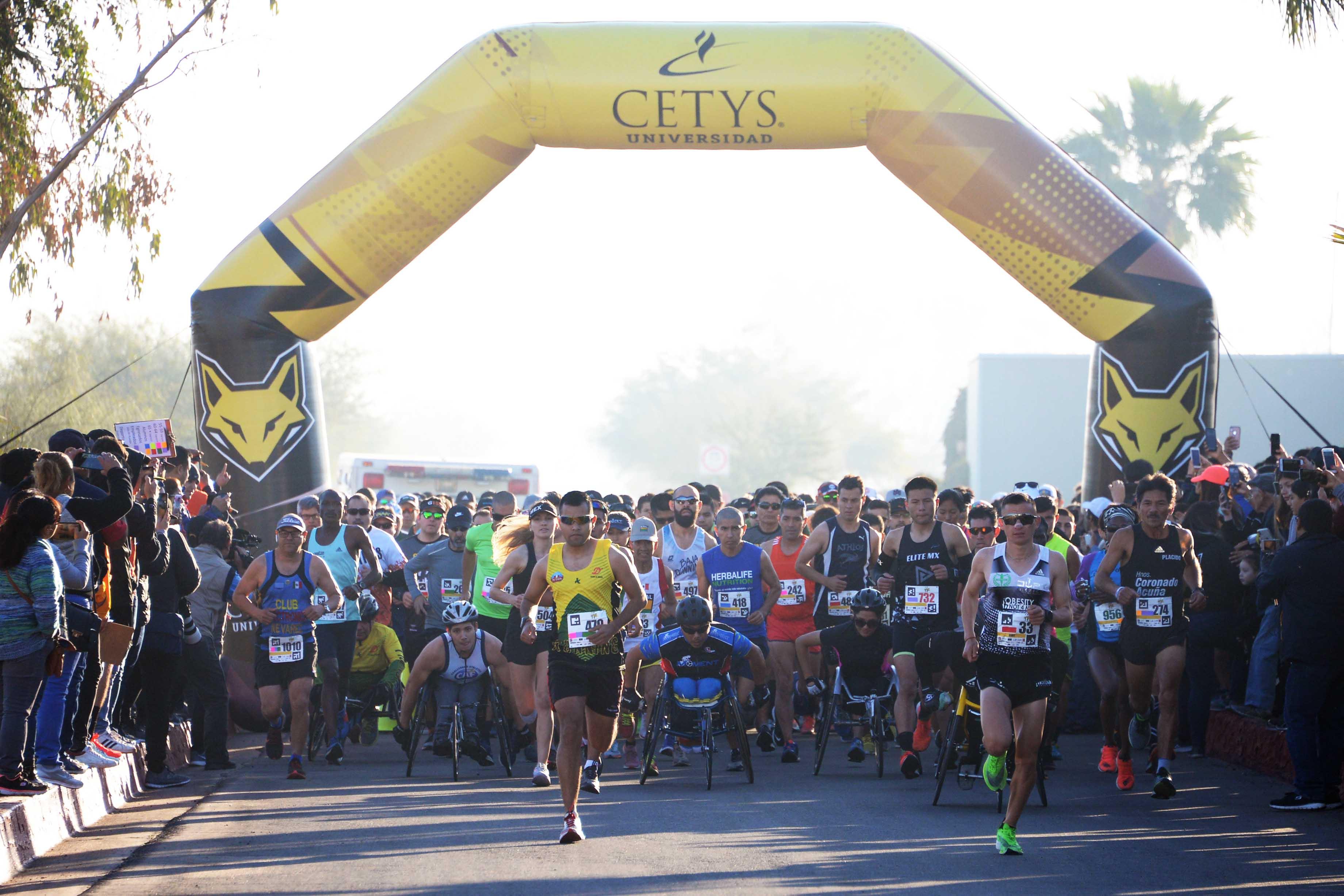 Se realiza exitosamente el Medio Maratón CETYS y Carrera 10K 2020