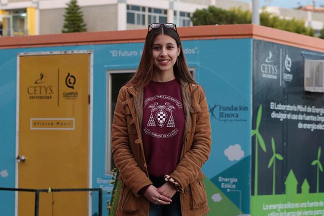Talento de estudiante mexicana atrae a universidad estadounidense
