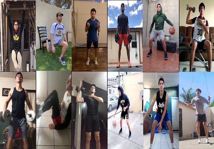 Basquetbol varonil de CETYS mantiene fuerte trabajo a distancia