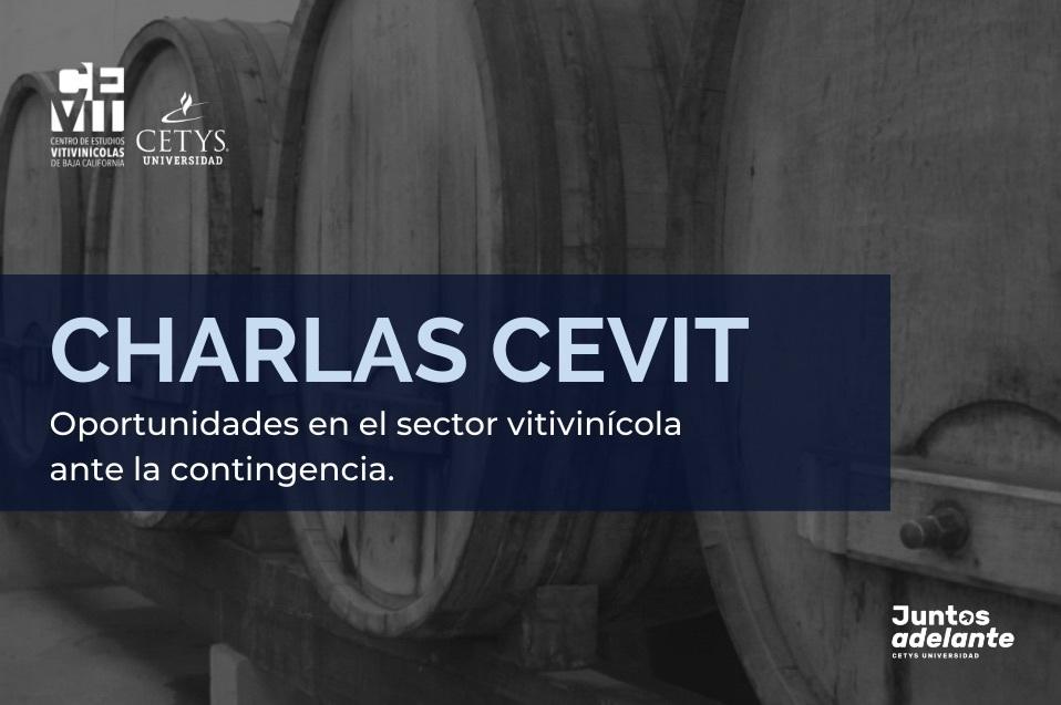 El CEVIT brindará charlas en apoyo al sector vitivinícola ante la crisis derivada de la contingencia sanitaria