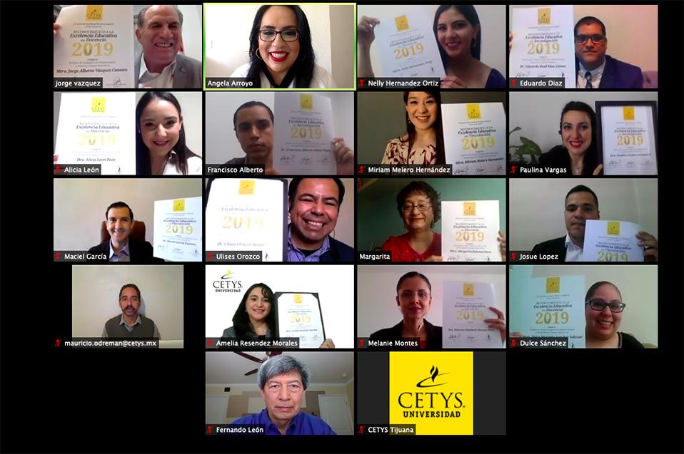 Otorgó el CETYS Universidad reconocimiento a docentes