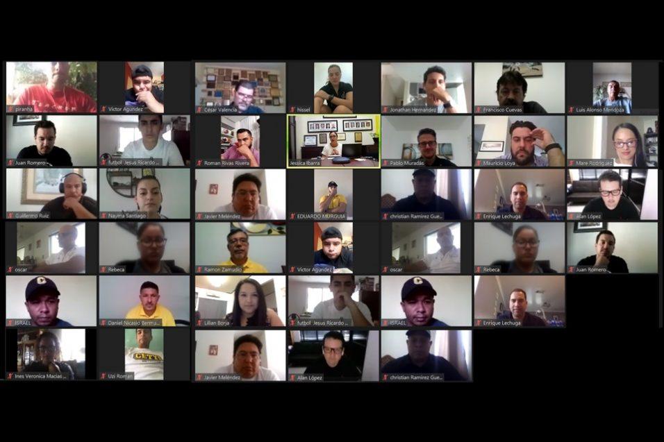 Entrenadores de Campus Tijuana tuvieron un encuentro virtual