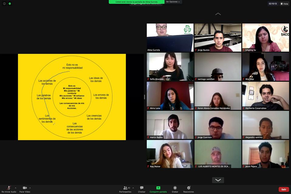 Líderes estudiantiles de CETYS participan en taller de inteligencia emocional