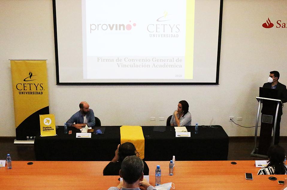 CETYS y Provino harán sinergia para fortalecer al sector vitivinícola en Baja California