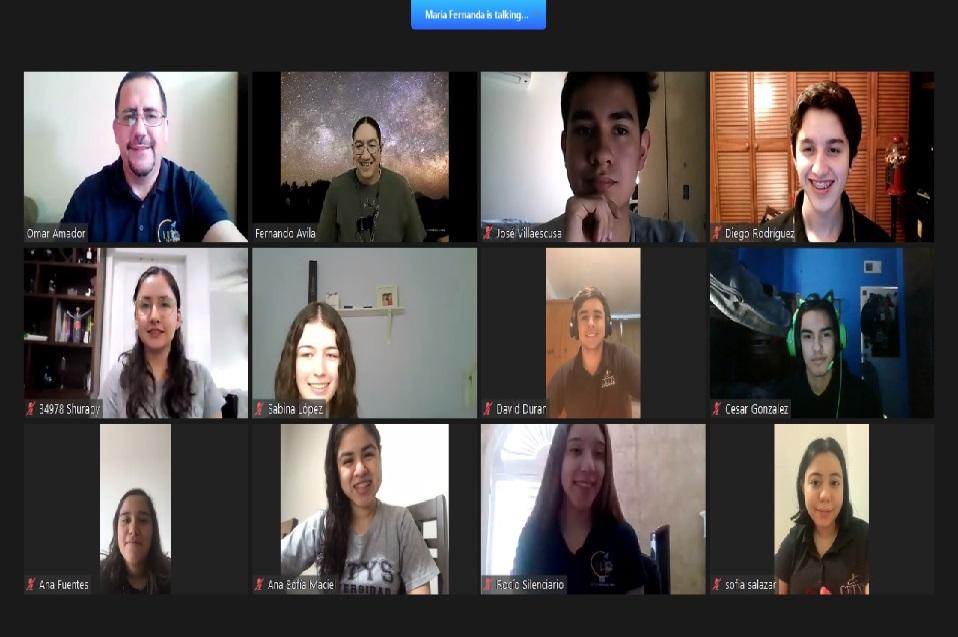 Conocen la importancia y aportes de la astrofísica durante una charla virtual estudiantes de la Preparatoria CETYS