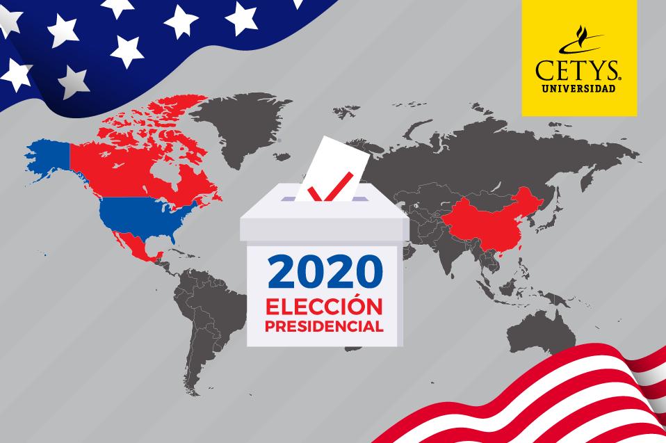 Así afectaría al mundo las elecciones de EUA 2020 con Trump o Biden
