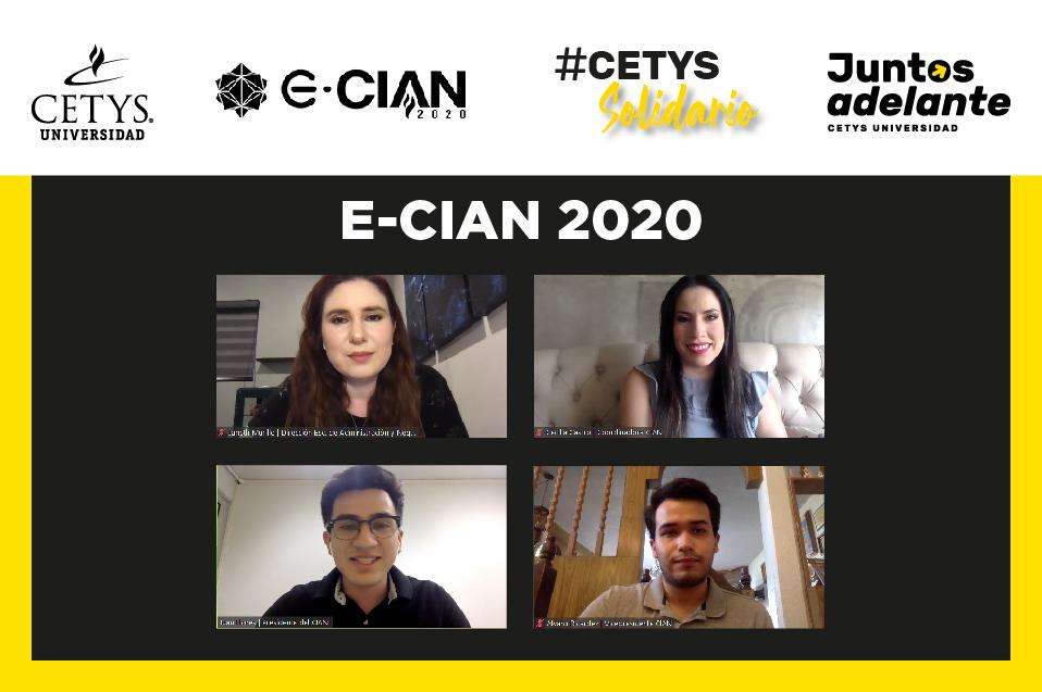 "Congreso E-CIAN por primera vez será en modalidad virtual, ""Make it possible"""