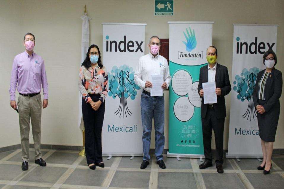 CETYS e Index Mexicali firman convenio de colaboración