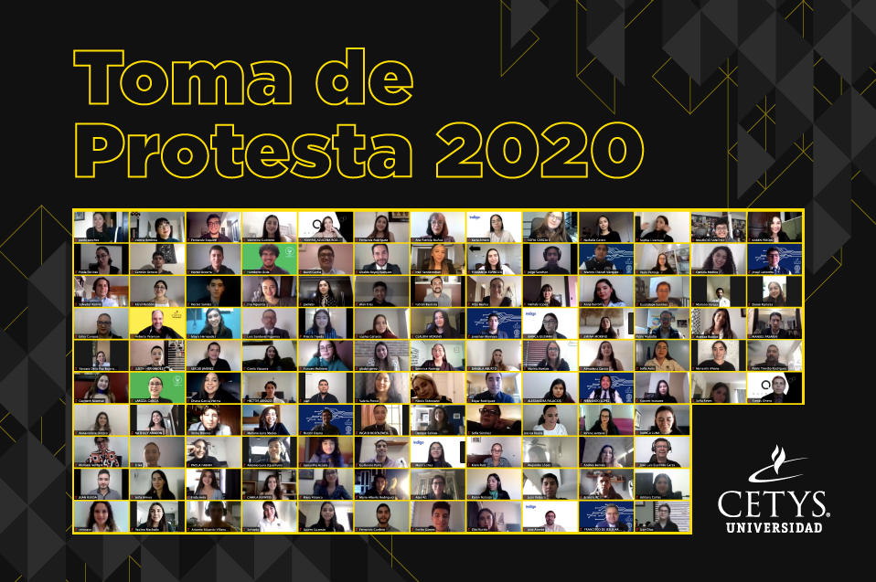 Fueron más de 100 estudiantes los que tomaron protesta.