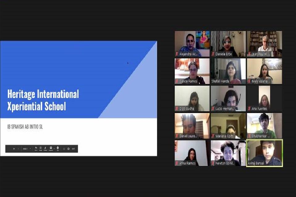 Se unen estudiantes de India y México en los Diálogos de Intercambio Cultural de la Preparatoria CETYS