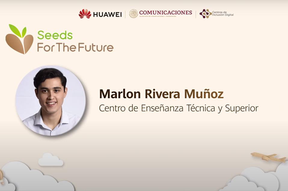 Conoce al alumno de CETYS becado por Huawei por promover el reciclaje y el cuidado del medio ambiente