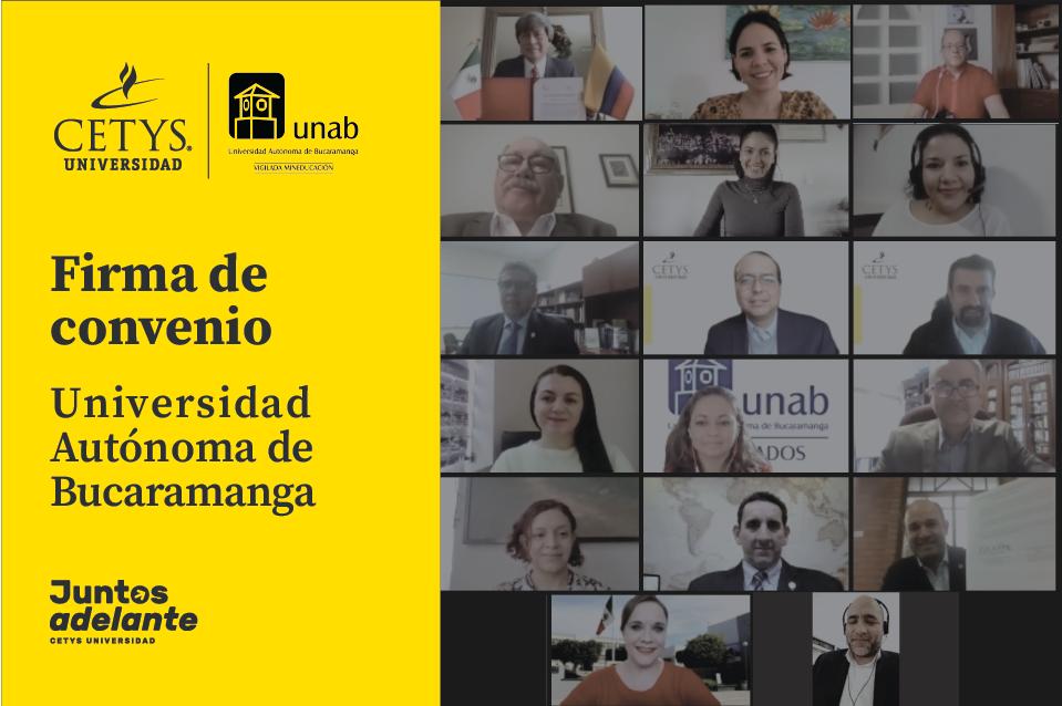 Reafirman colaboración interinstitucional CETYS Universidad y la Universidad Autónoma de Bucaramanga