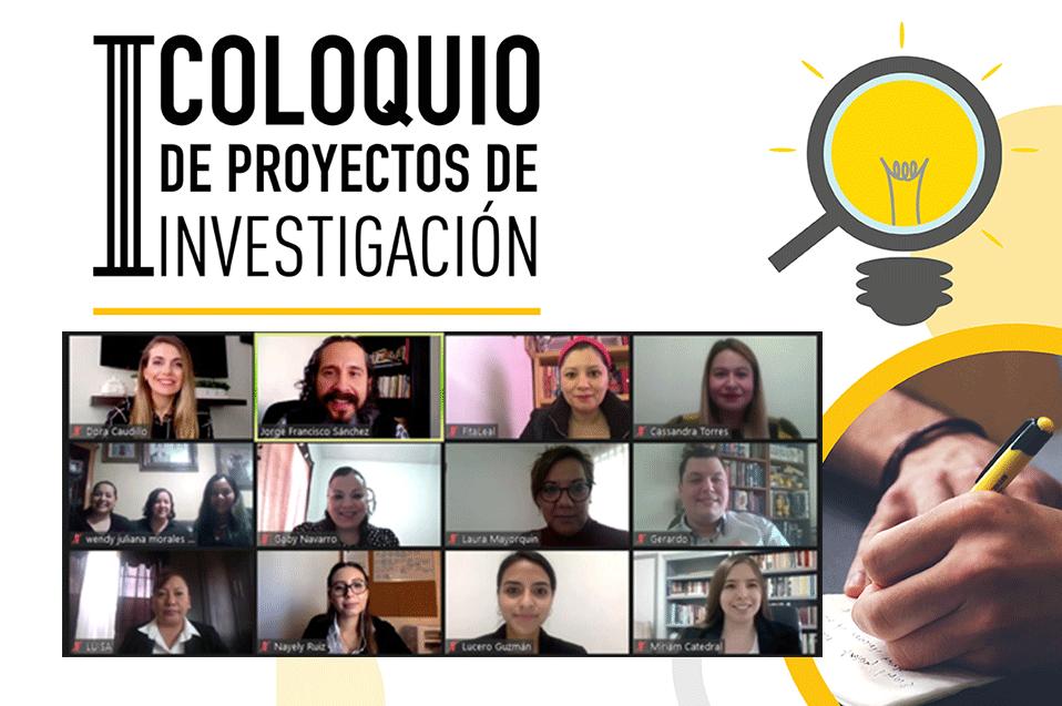 III Coloquio de Proyectos de Investigación de MED trae proyectos que se adaptaron a pandemia del COVID y aprovechamiento de las TAC