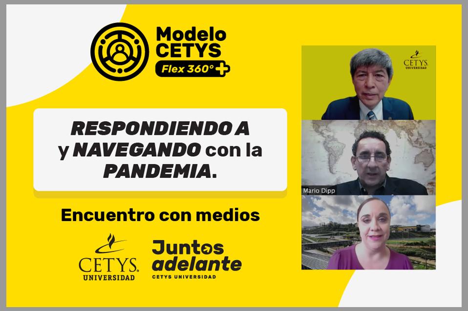 Responde CETYS Universidad ante la pandemia: encuentro con medios de comunicación