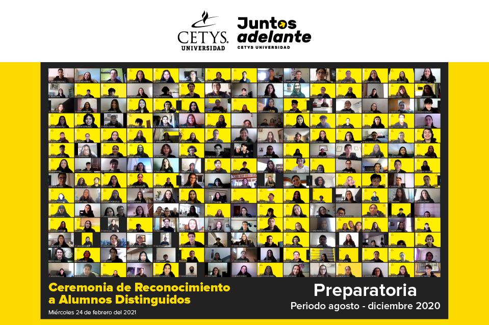 Reconoce CETYS a alumnos que destacaron en el 2020
