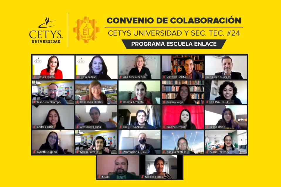 CETYS Universidad y Secundaria Técnica 24, por una educación de calidad en la ciudad