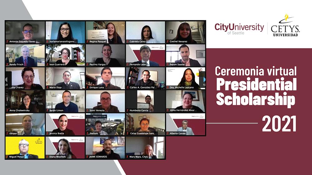 Ceremonia virtual presidential Scholarship