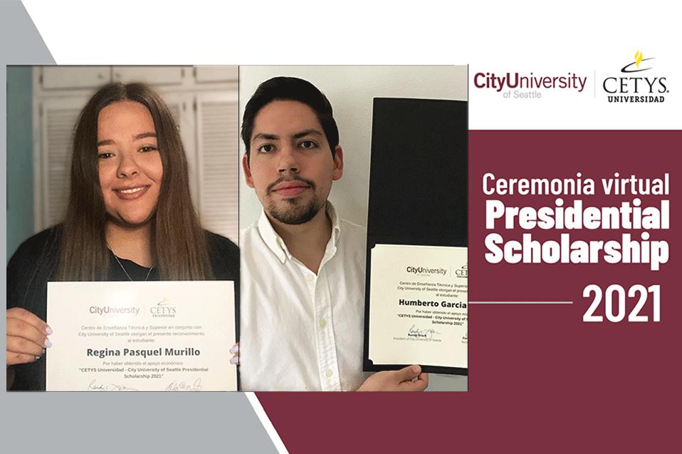 """Alumnos de CETYS obtienen la beca """"CETYS-CityU Presidential Scholarship 2021"""