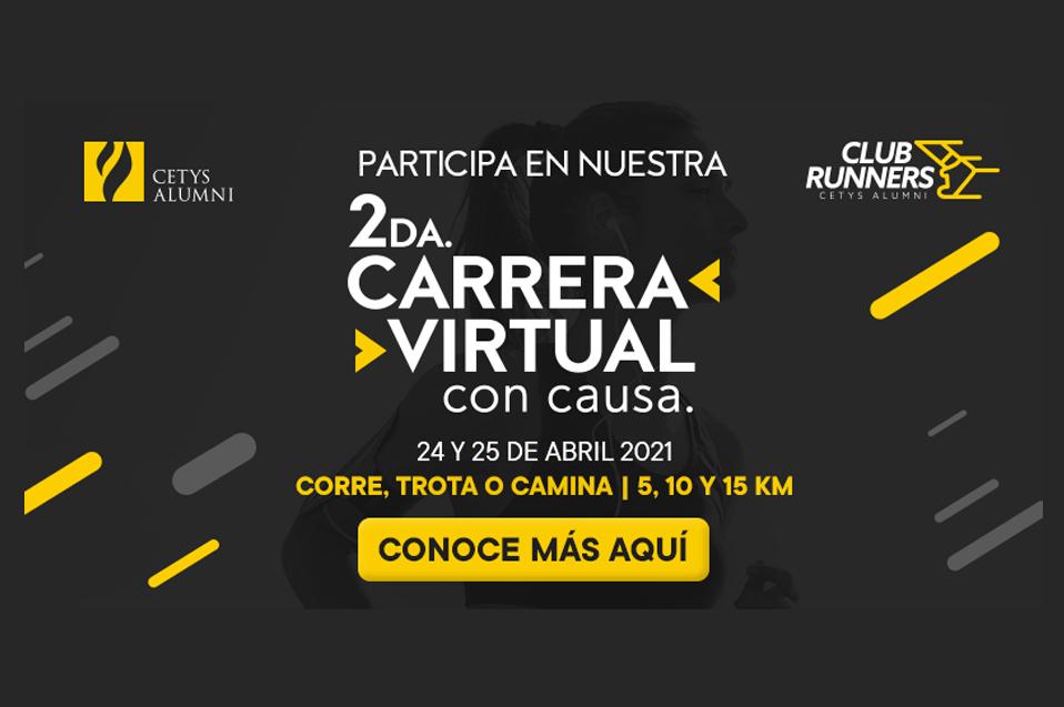 Participa en la 2da. Carrera Virtual con Causa de CETYS Alumni