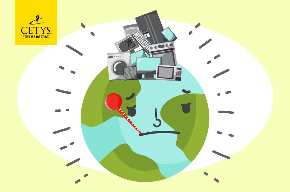 La basura electrónica afecta a la tierra y la salud de los seres vivos