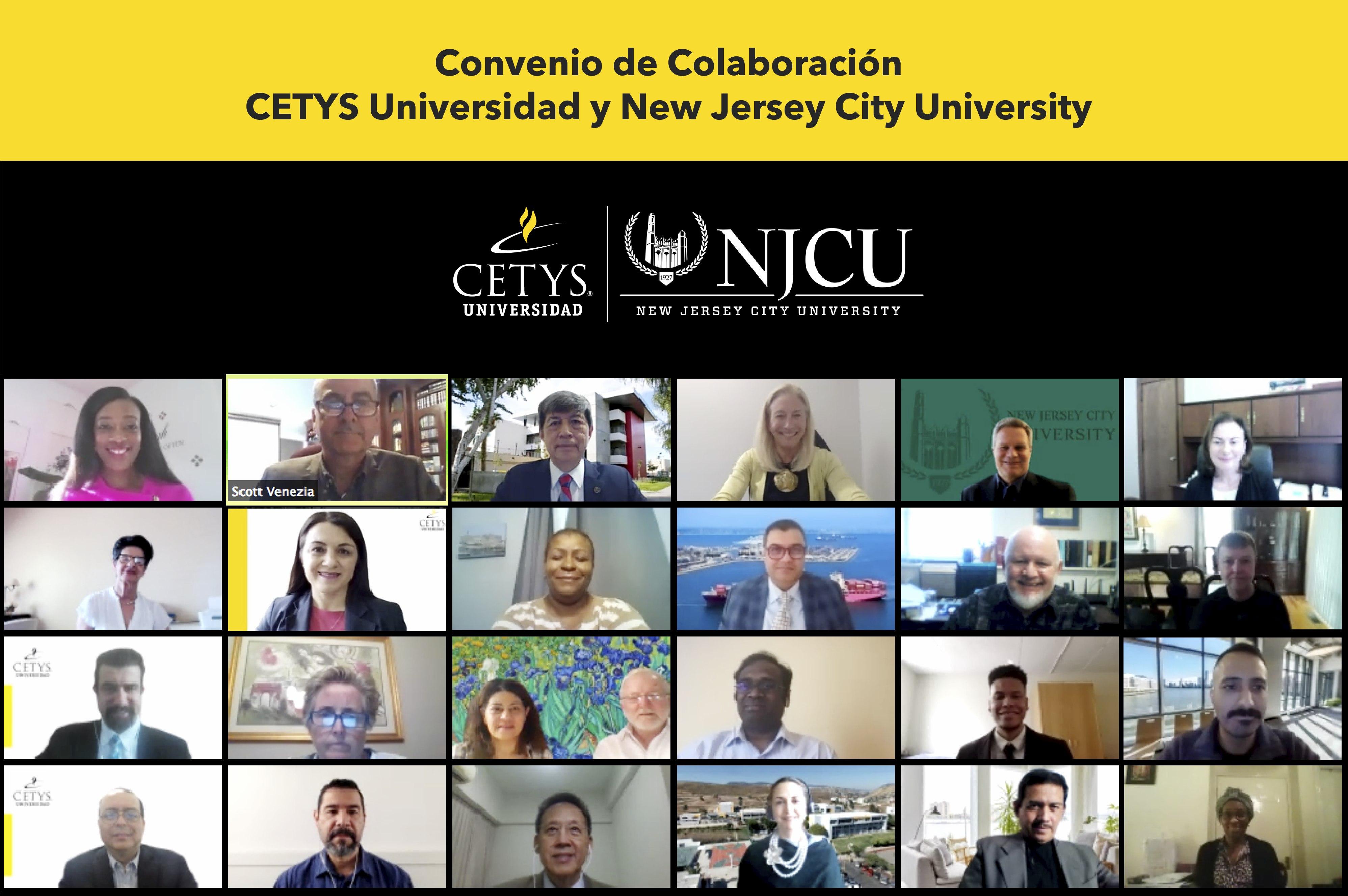 Fomenta colaboración internacional CETYS Universidad con New Jersey City University en EUA