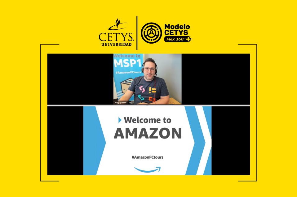Estudiantes de CETYS visitan Amazon de manera virtual