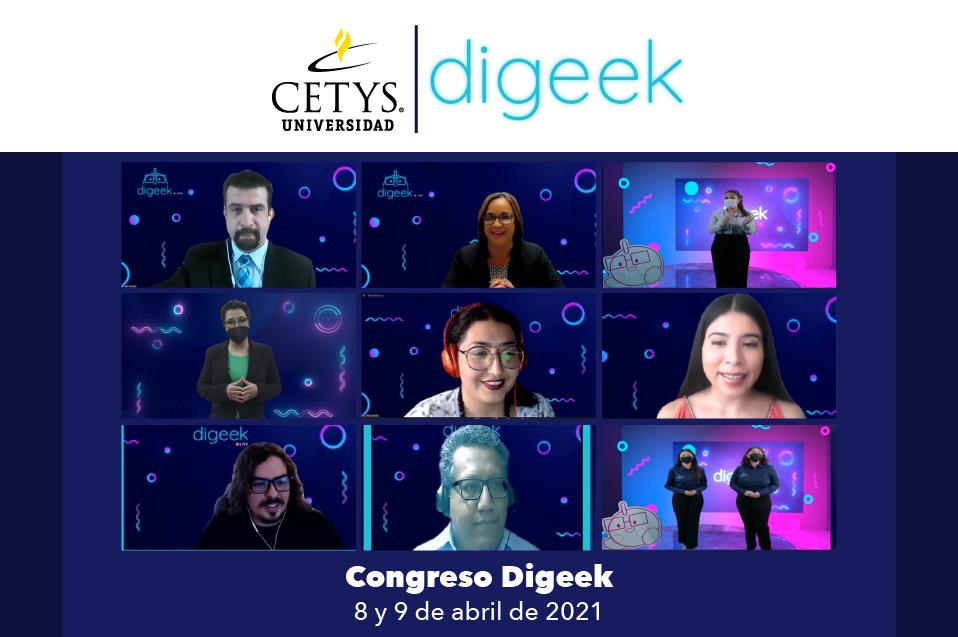 Estudiantes promueven la creación de tecnología con congreso Digeek